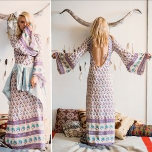 Spell designs bohemian royale empress maxi dress M